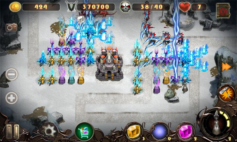 Epic Defense 2 - Wind Spells - screenshot