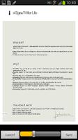 Screenshot of eSigna Writer Lite - Sign PDF