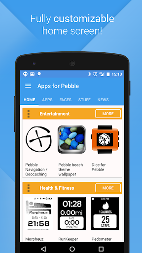 Apps for Pebble