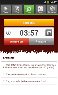 BBQ app - screenshot thumbnail