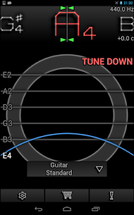 PitchLab Guitar Tuner (PRO)- screenshot thumbnail
