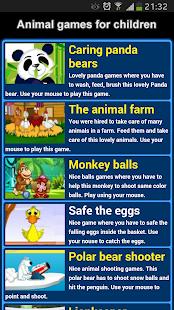 Animal Games for Children