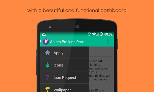 Astero PRO - Icon Pack - screenshot thumbnail