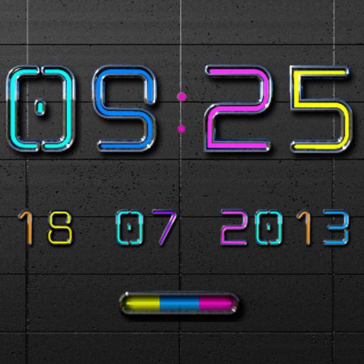 NEW NEON Digital Clock