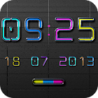 NEW NEON Digital Clock icon