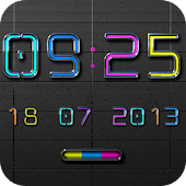 NEXT NEON Digital Clock