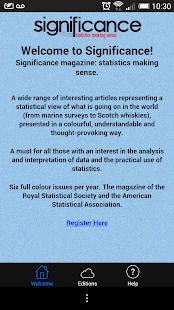 Significance - screenshot thumbnail