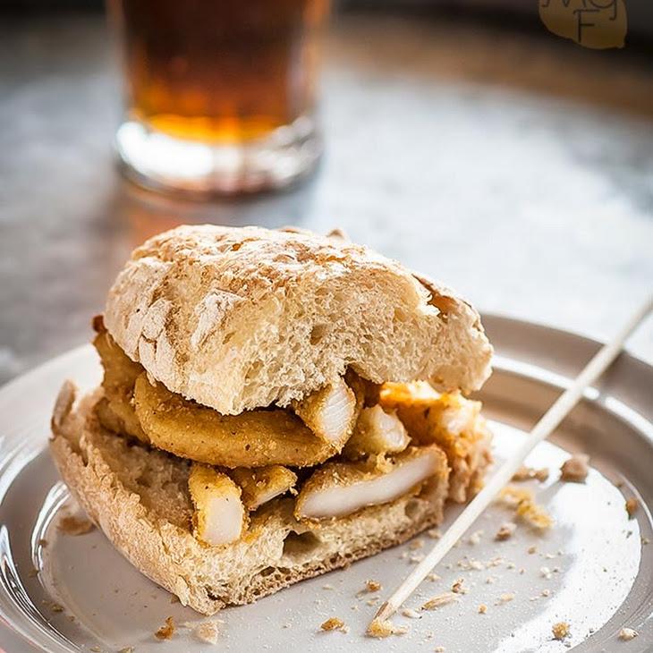 Breaded Calamari Sandwich Recipe