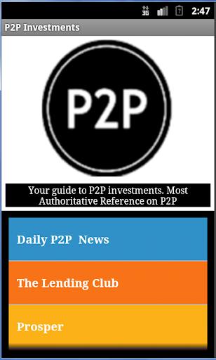 P2P Investment