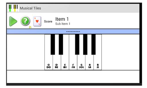 Musical Tiles