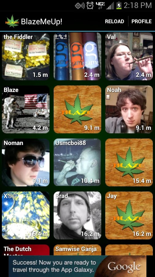 Meet Weed Friends - BlazeMeUp! - screenshot