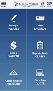 Liberty Mutual Mobile - screenshot thumbnail
