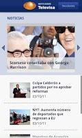 Screenshot of Noticieros Televisa US