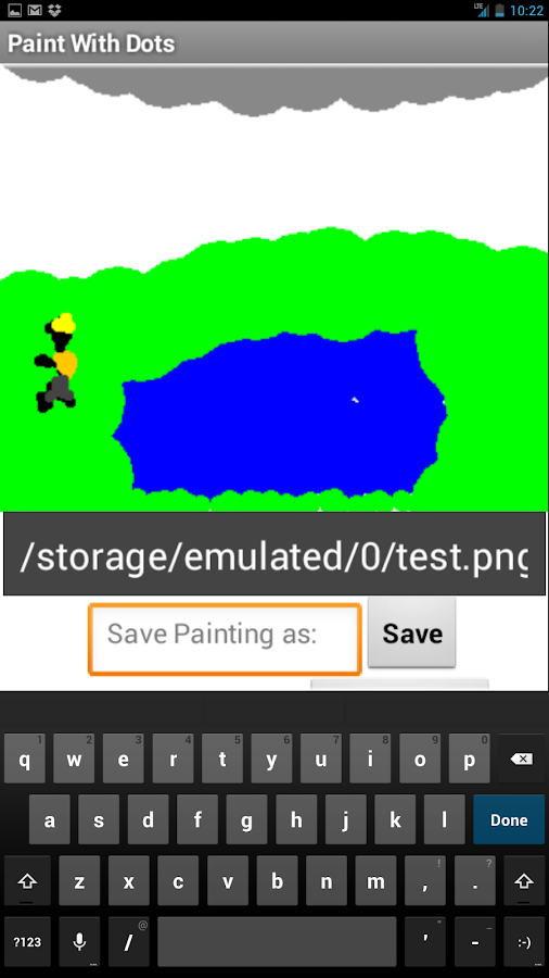 Dot Paint - screenshot