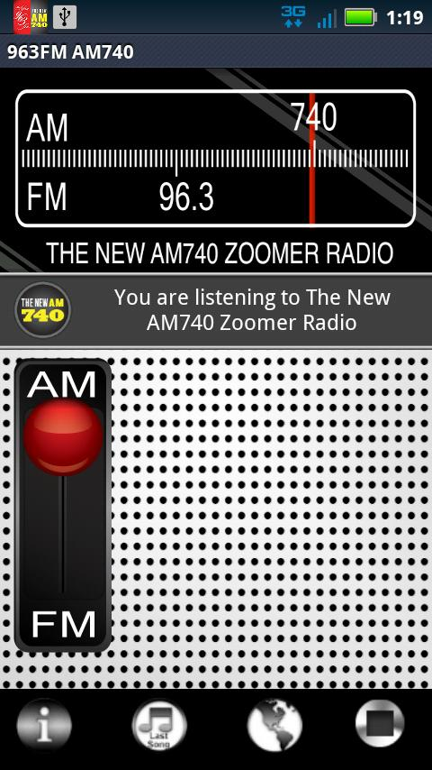 Classical & Zoomer Radio - screenshot
