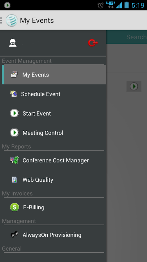Conference America Mobile- screenshot