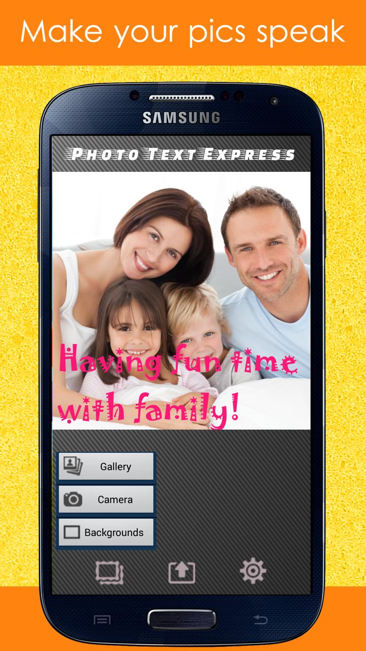 Photo Editor Text Fonts Effect Screenshot