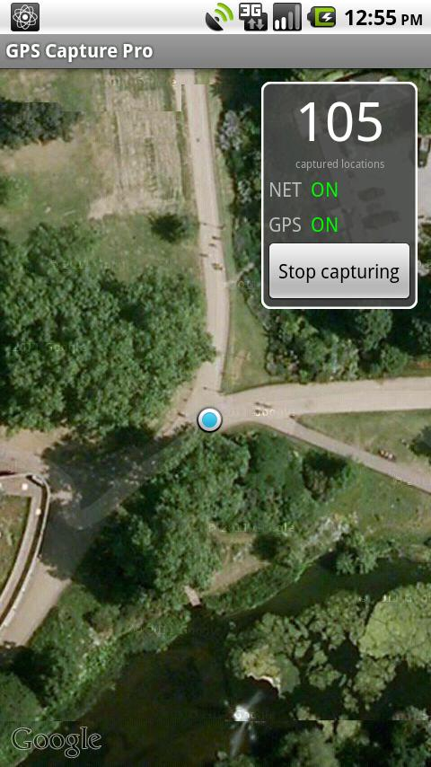 GPS Capture Pro- screenshot