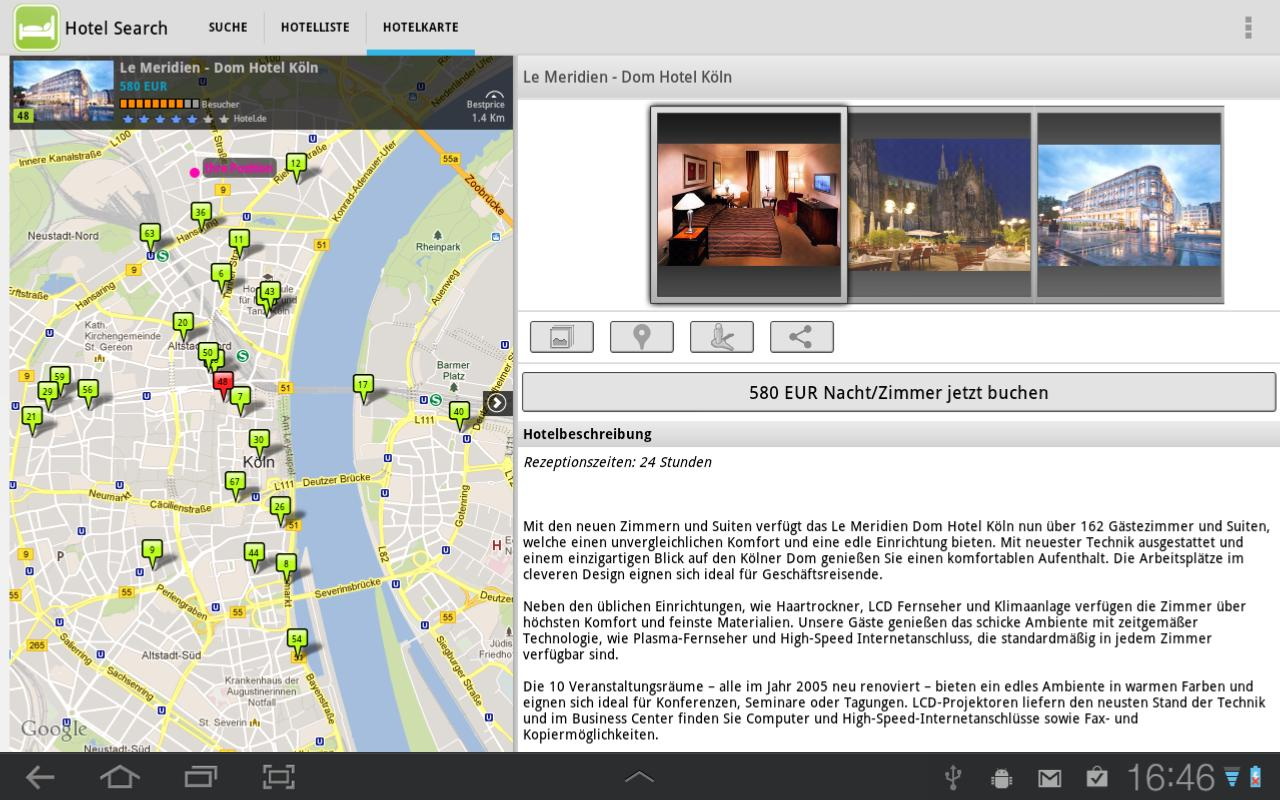 Hotel Search - screenshot
