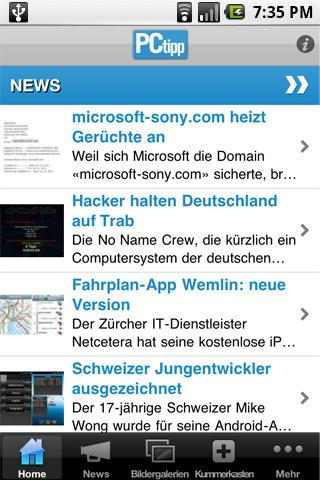 PCtipp - screenshot
