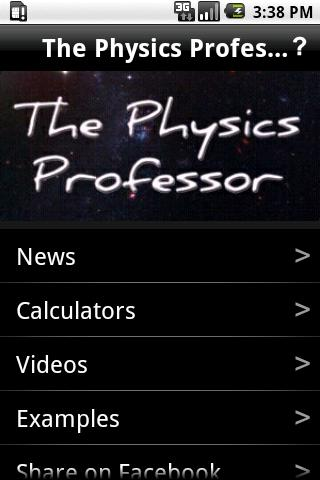 The Physics Professor - screenshot