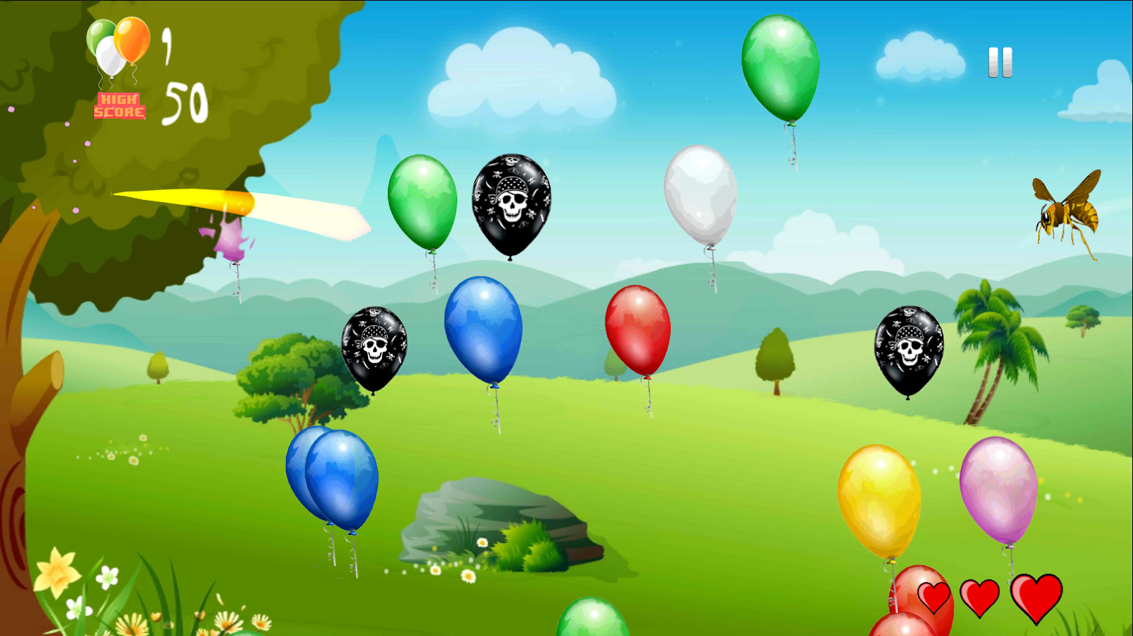 Balloon slicer free 2014 android apps on google play for Free balloon games