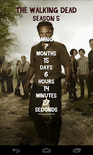 Já é hora do Walking Dead
