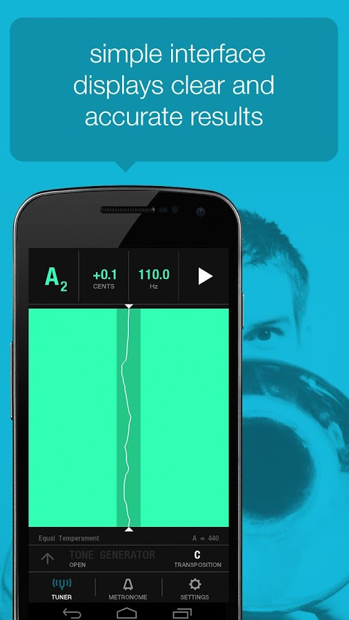 Tunable: Tuner, Metronome, Rec - screenshot