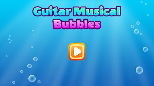 Guitar Musical Bubbles