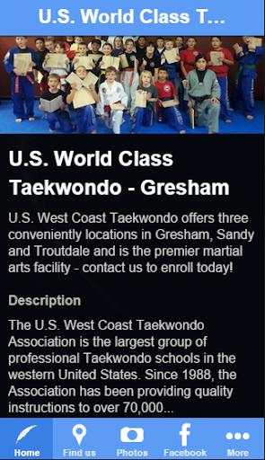 U.S. World Class Taekwondo