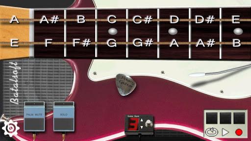 Power guitar HD - chords, guitar solos, palm mute  screenshots 1