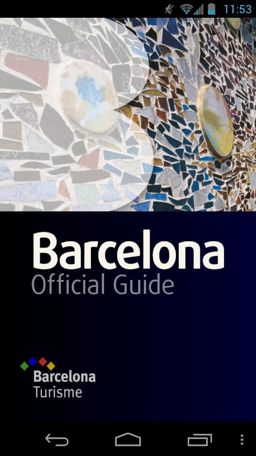Barcelona Official Guide - screenshot