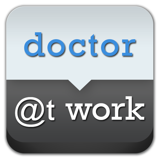 Doctor At Work- Patient Record 醫療 App LOGO-硬是要APP