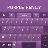 Purple Fancy Keyboard