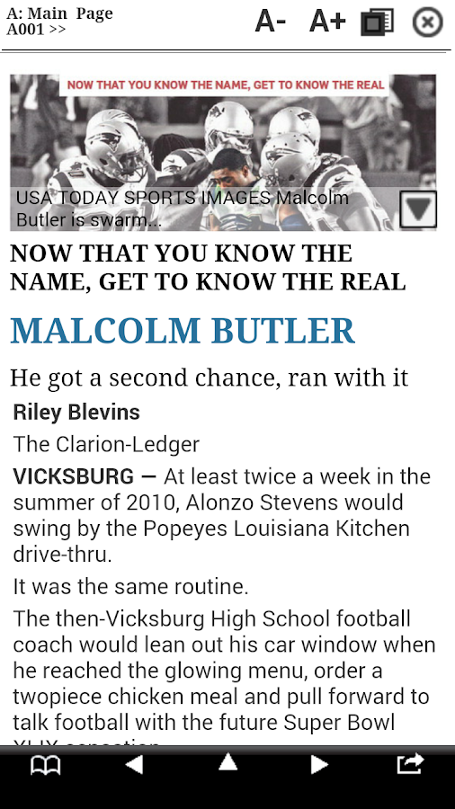 Clarion Ledger Print Edition- screenshot