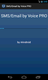 SMS / Email by Voice PRO- screenshot thumbnail