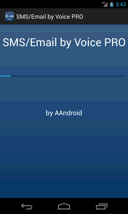 SMS / Email by Voice PRO- screenshot