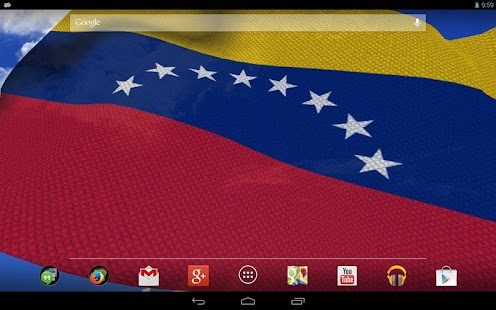3D Venezuela Flag LWP + - screenshot thumbnail