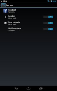 Rechte Manager (ohne Root) - screenshot thumbnail