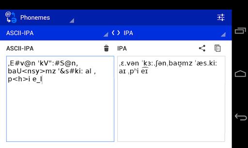 Phoneme Converter  screenshots 2