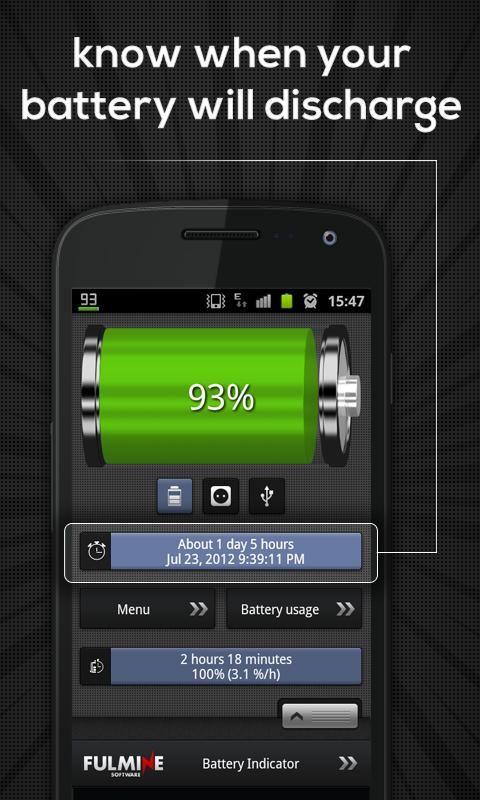 Battery Indicator- screenshot
