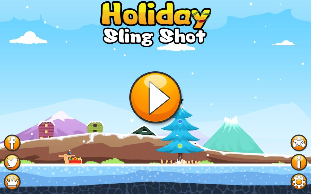 Holiday Sling Shot Deluxe- screenshot