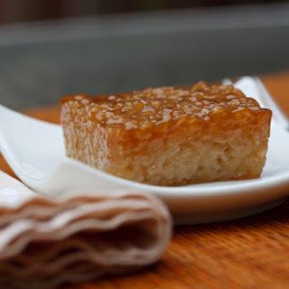 Biko (Filipino Sweet Sticky Rice).