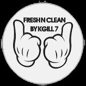 FreshNClean CM9/AOKP Theme