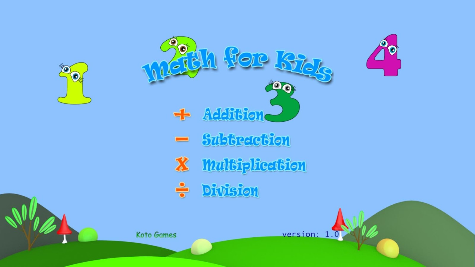 Math for Kids - calculate fast - Android Apps on Google Play