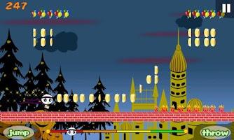 Screenshot of Panda Runner!