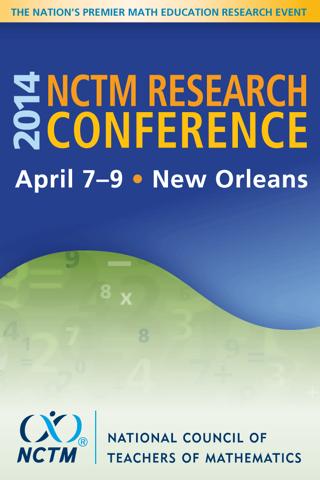 玩生產應用App|NCTM 2014 Research Conference免費|APP試玩