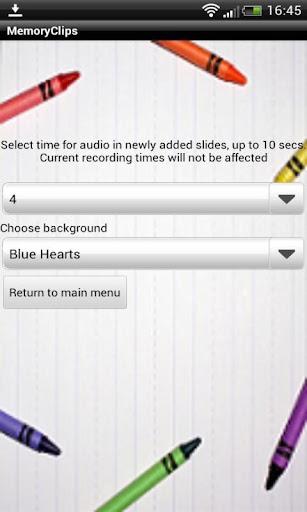Memory clips S4 sound shot