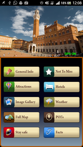 Siena Offline Map Guide