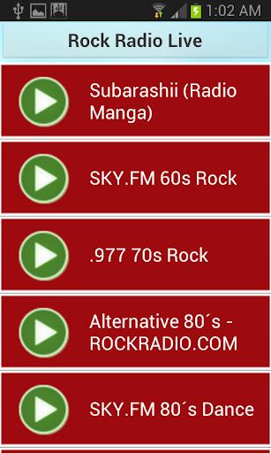 Rock Radio Live